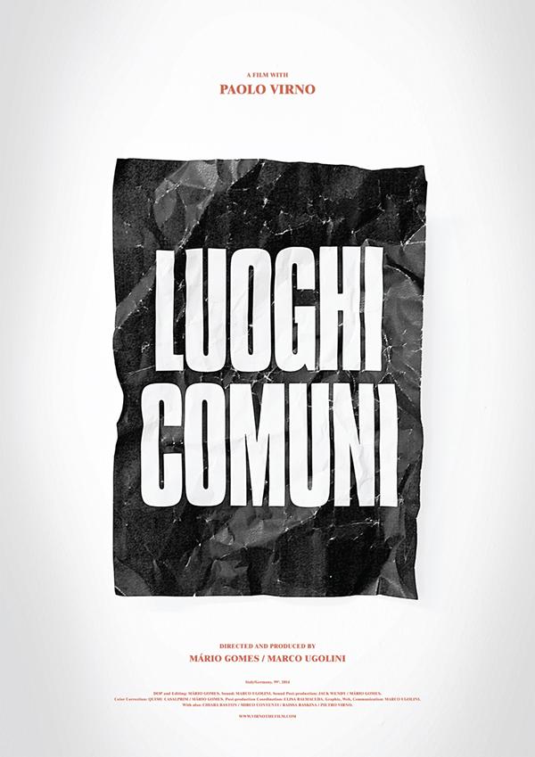 Luoghi-Comuni-Poster